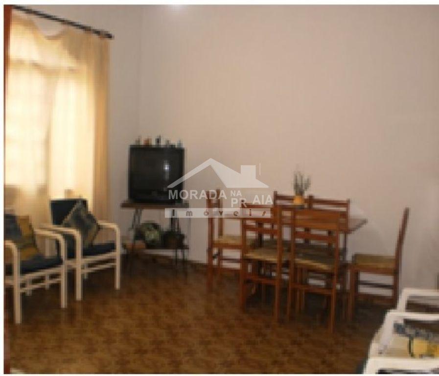 Sala do casa geminada com 3 dormitórios em MIRIM - PRAIA GRANDE