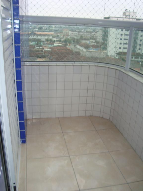 Sacada suíte do apartamento com 2 dormitórios em AVIAÇÃO - PRAIA GRANDE