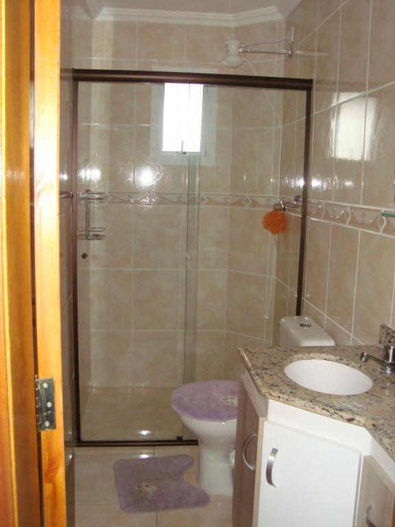 WC social do apartamento com 2 dormitórios em AVIAÇÃO - PRAIA GRANDE