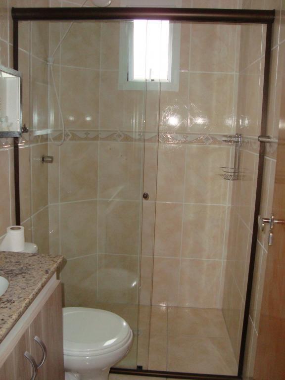 WC suíte do apartamento com 2 dormitórios em AVIAÇÃO - PRAIA GRANDE