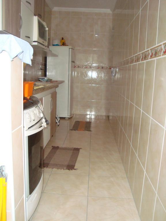 Cozinha ang 02 do apartamento com 2 dormitórios em AVIAÇÃO - PRAIA GRANDE