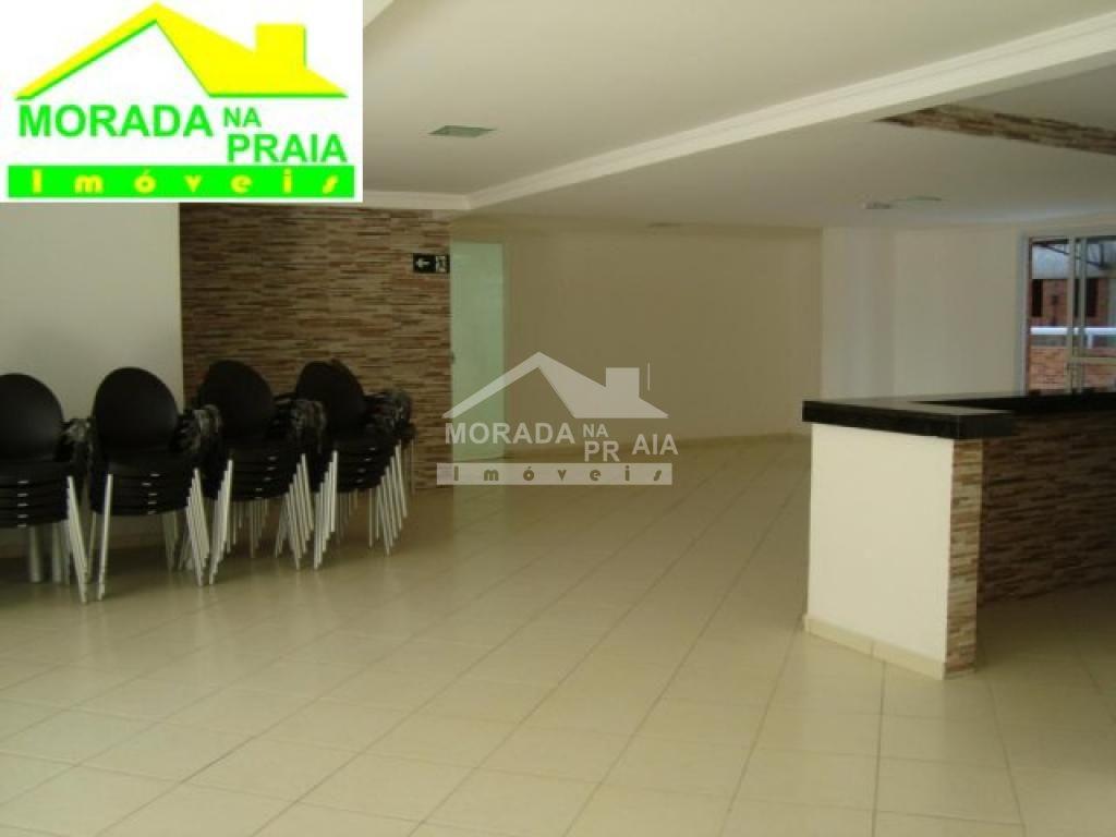 Salão de festas do apartamento com 2 dormitórios em CANTO DO FORTE - PRAIA GRANDE