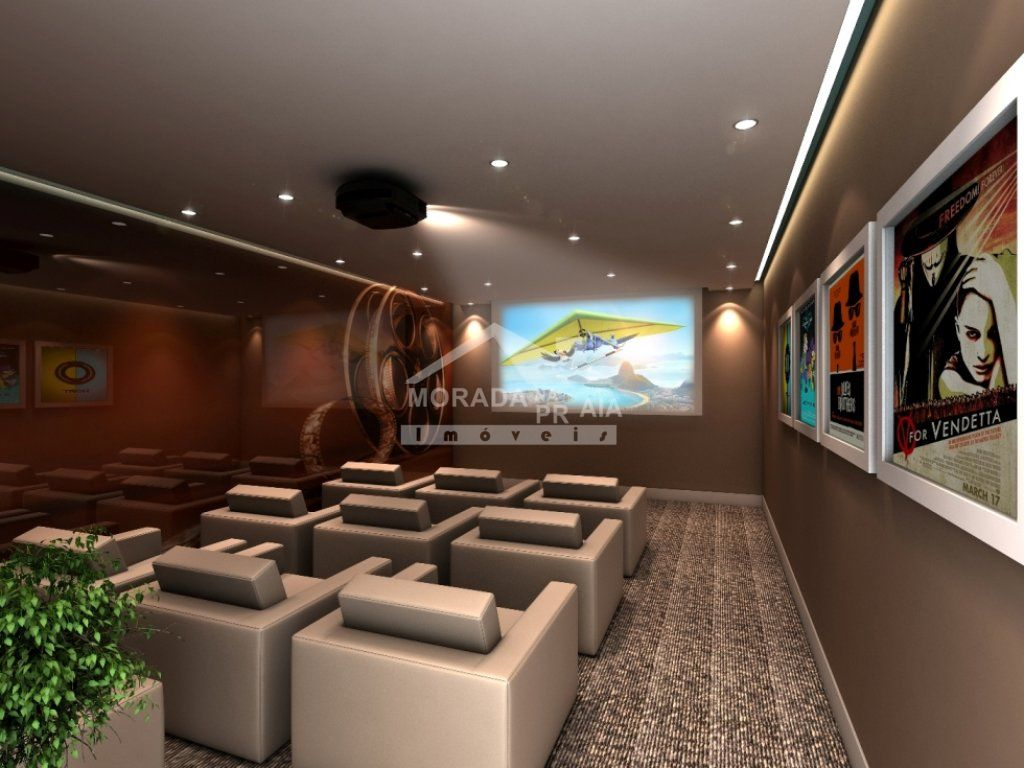 Cinema do apartamento com 3 dormitórios em GUILHERMINA - PRAIA GRANDE