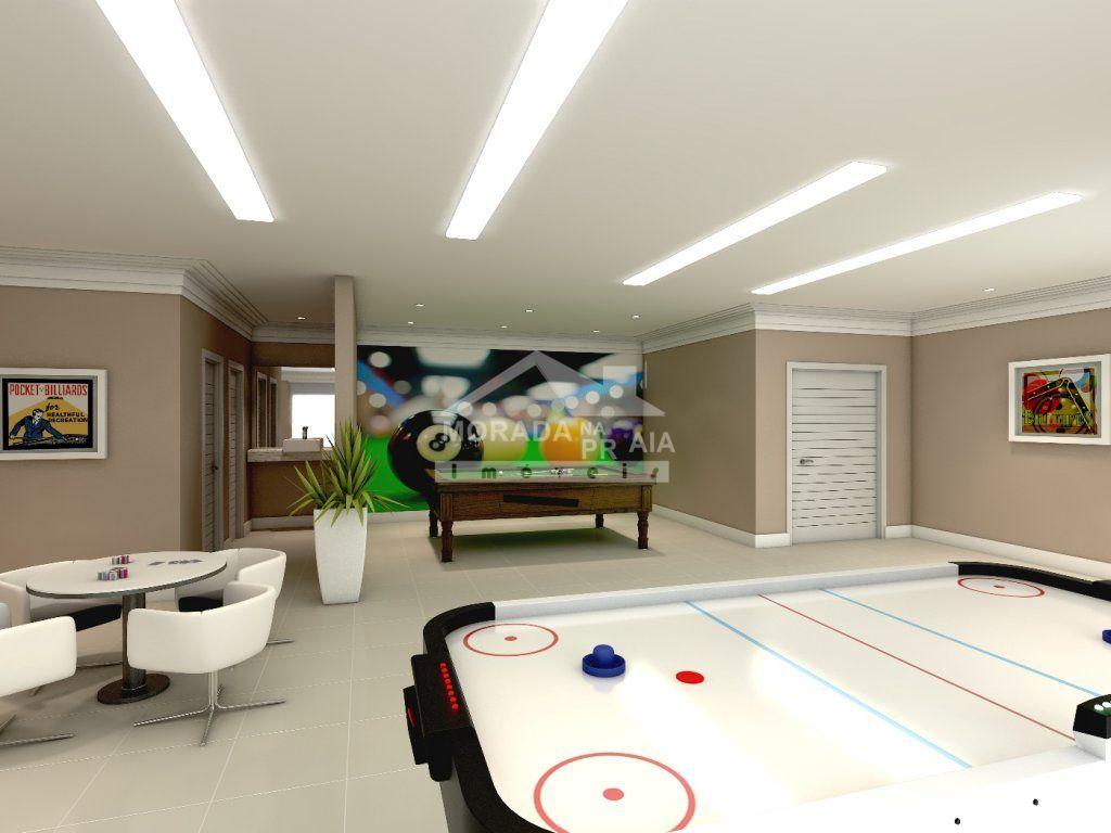 Salão de Jogos do apartamento com 3 dormitórios em GUILHERMINA - PRAIA GRANDE