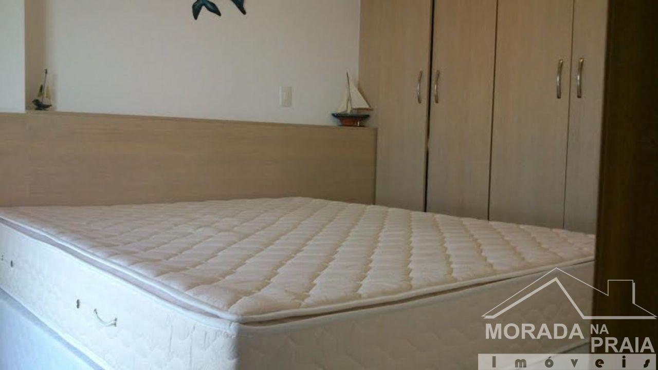 SUIÍTE do apartamento com 2 dormitórios em GUILHERMINA - PRAIA GRANDE