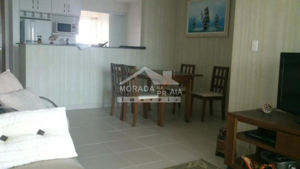 SALA ÂNGULO 2 do apartamento com 2 dormitórios em GUILHERMINA - PRAIA GRANDE