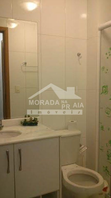WC SOCIAL do apartamento com 2 dormitórios em GUILHERMINA - PRAIA GRANDE