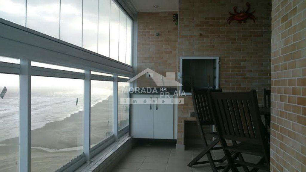 VARANDA do apartamento com 2 dormitórios em GUILHERMINA - PRAIA GRANDE
