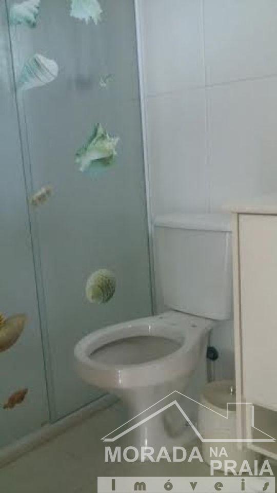WC SUÍTE do apartamento com 2 dormitórios em GUILHERMINA - PRAIA GRANDE
