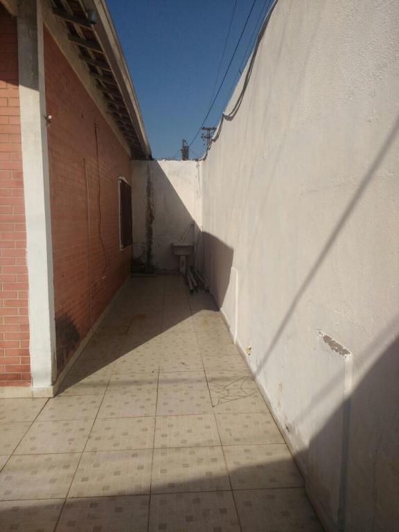 Corredor do casa geminada com 2 dormitórios em AVIAÇÃO - PRAIA GRANDE