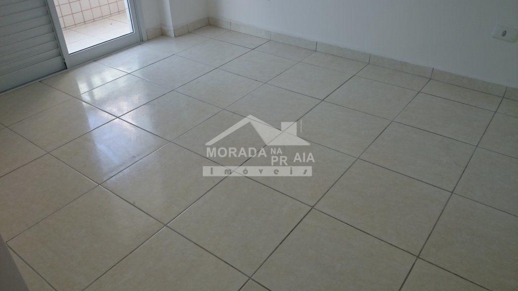 Suíte 01 do apartamento com 3 dormitórios em AVIAÇÃO - PRAIA GRANDE