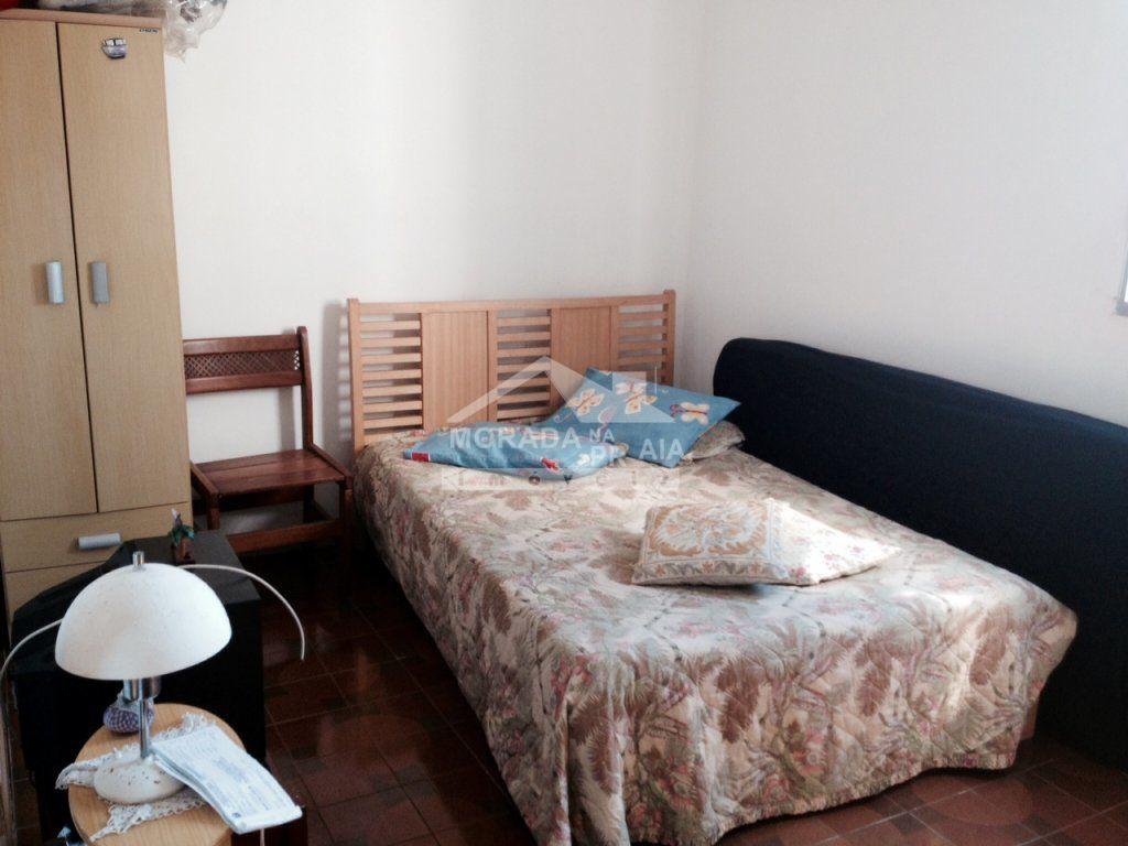 Dormitório do apartamento com 1 dormitórios em MIRIM - PRAIA GRANDE