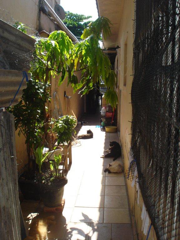 Corredor do casa geminada com 3 dormitórios em BOQUEIRÃO - PRAIA GRANDE