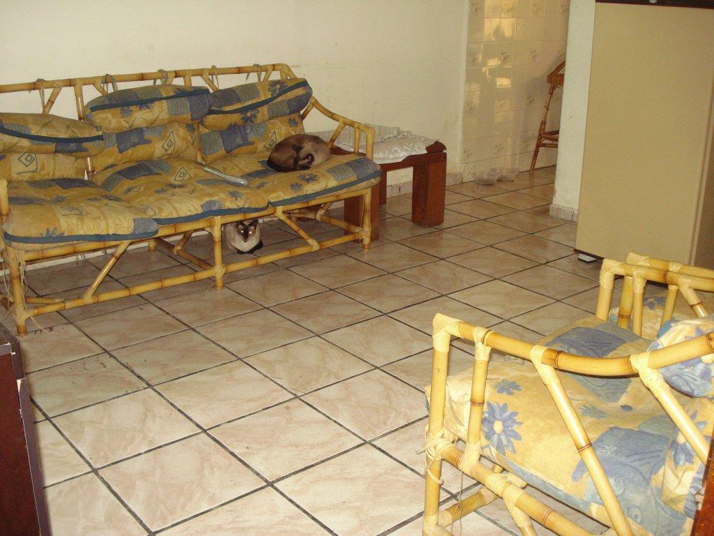 Sala do casa geminada com 3 dormitórios em BOQUEIRÃO - PRAIA GRANDE