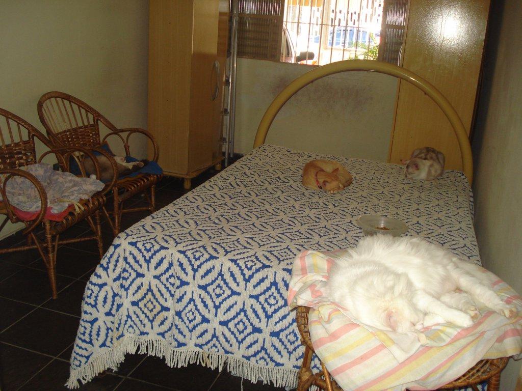Dormitório 01 do casa geminada com 3 dormitórios em BOQUEIRÃO - PRAIA GRANDE
