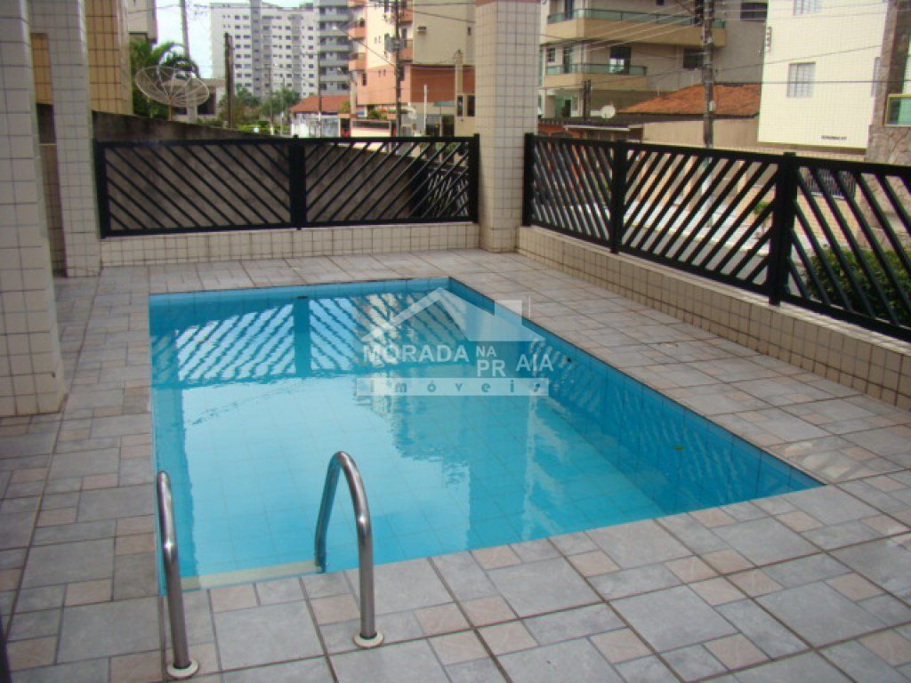 Piscina do apartamento com 1 dormitórios em TUPI - PRAIA GRANDE