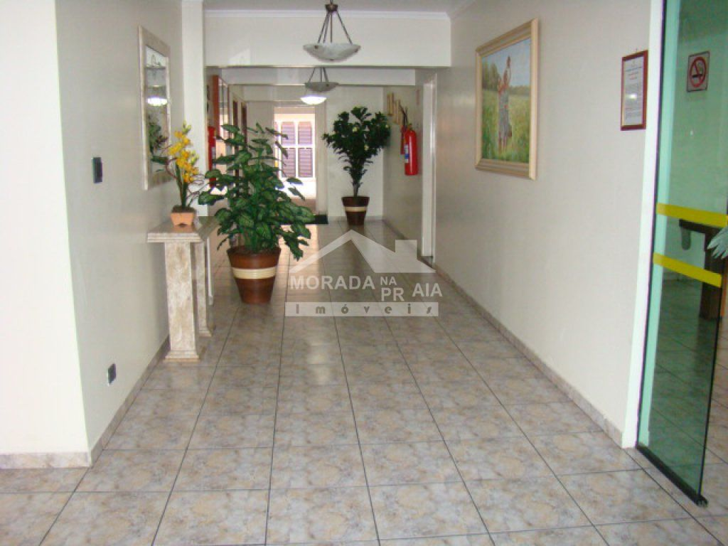 Hall de entrada do apartamento com 1 dormitórios em TUPI - PRAIA GRANDE
