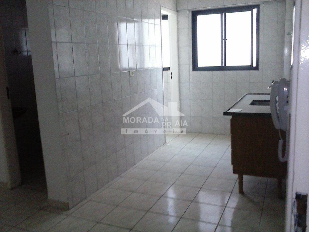 Cozinha do apartamento com 1 dormitórios em TUPI - PRAIA GRANDE