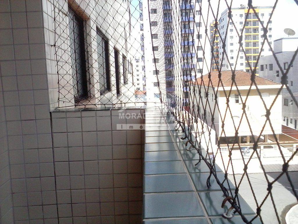 Sacada do apartamento com 1 dormitórios em TUPI - PRAIA GRANDE