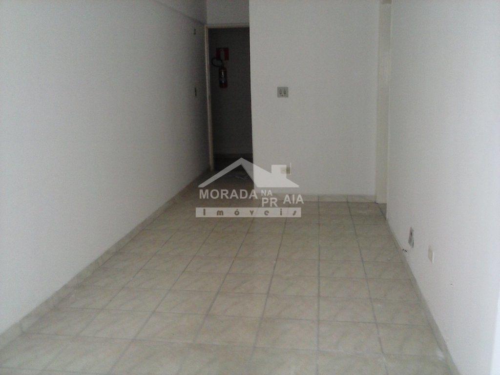 Sala do apartamento com 1 dormitórios em TUPI - PRAIA GRANDE