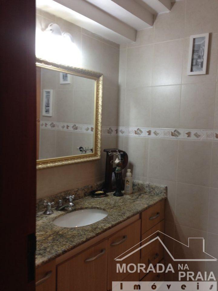 WC SUITE 1 do apartamento com 4 dormitórios em CANTO DO FORTE - PRAIA GRANDE