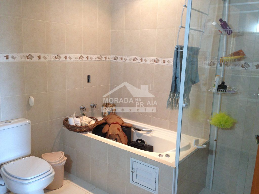 WC SUÍTE MASTER do apartamento com 4 dormitórios em CANTO DO FORTE - PRAIA GRANDE