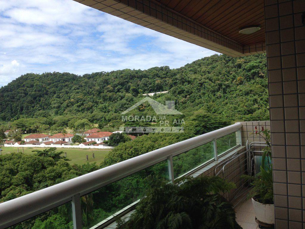 VISTA VARANDA GOURMET do apartamento com 4 dormitórios em CANTO DO FORTE - PRAIA GRANDE