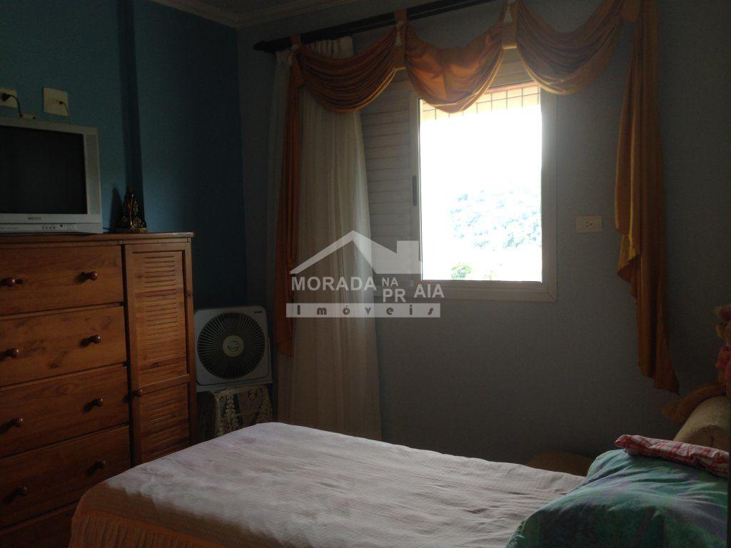 SUÍTE MASTER do apartamento com 4 dormitórios em CANTO DO FORTE - PRAIA GRANDE