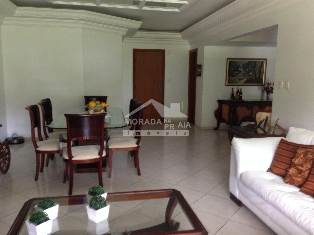 SALAS ESTAR E JANTAR do apartamento com 4 dormitórios em CANTO DO FORTE - PRAIA GRANDE