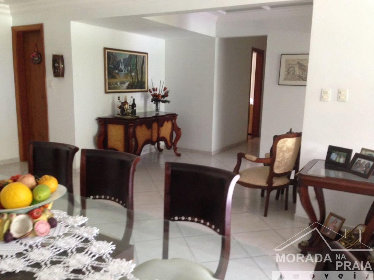 SALA do apartamento com 4 dormitórios em CANTO DO FORTE - PRAIA GRANDE