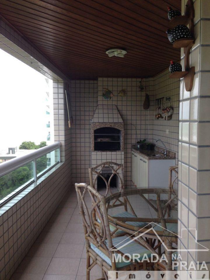 VARANDA GOURMET do apartamento com 4 dormitórios em CANTO DO FORTE - PRAIA GRANDE