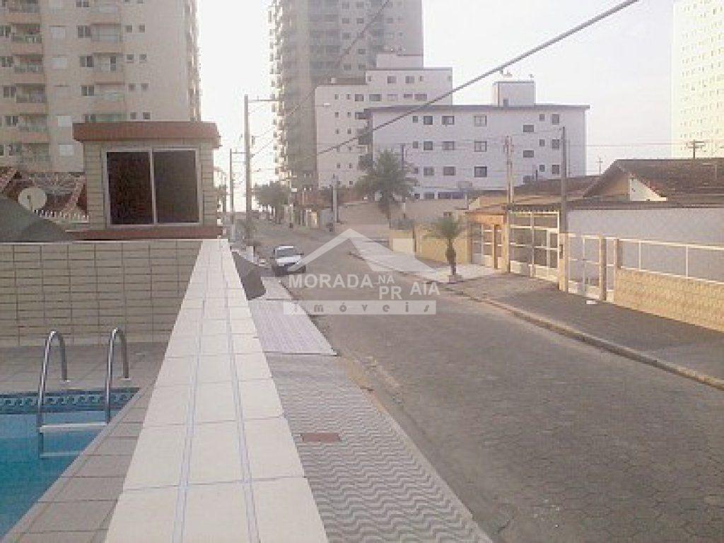 Vista do prédio do apartamento com 1 dormitórios em AVIAÇÃO - PRAIA GRANDE