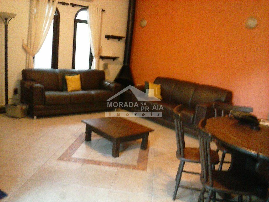 Sala ang 2 do casa isolada com 3 dormitórios em CANTO DO FORTE - PRAIA GRANDE