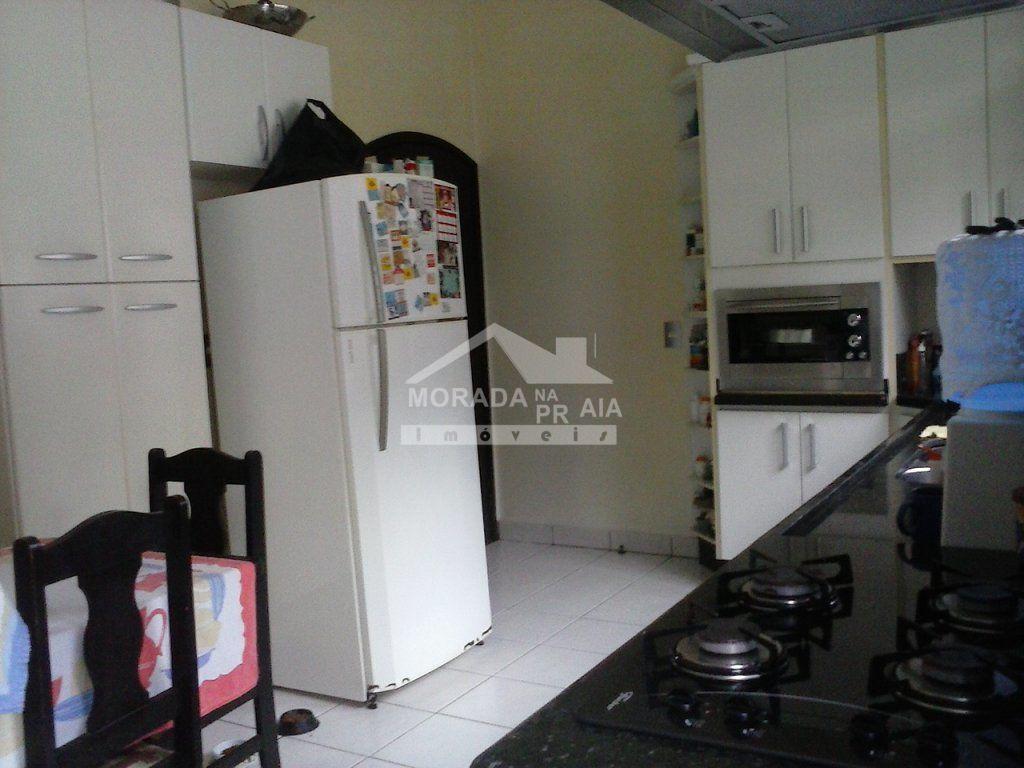 Cozinha ang 2 do casa isolada com 3 dormitórios em CANTO DO FORTE - PRAIA GRANDE