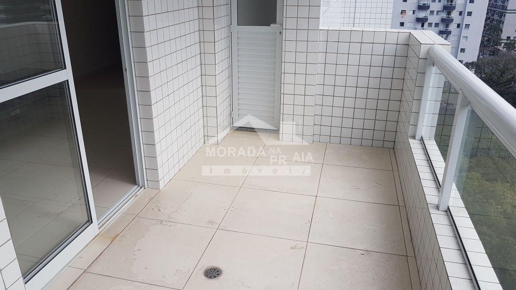 Terraço gourmet ang 02 do apartamento com 1 dormitórios em CANTO DO FORTE - PRAIA GRANDE