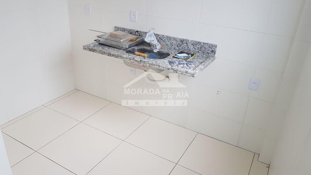 Cozinha ang 02 do apartamento com 1 dormitórios em CANTO DO FORTE - PRAIA GRANDE