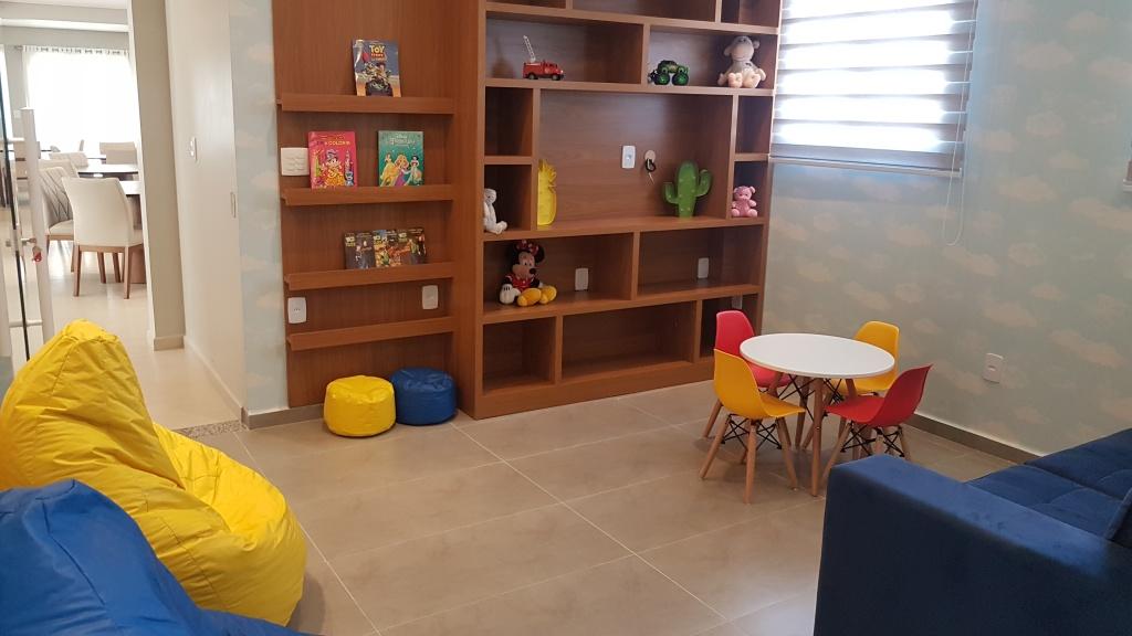 Brinquecoteca ang 02 do apartamento com 1 dormitórios em CANTO DO FORTE - PRAIA GRANDE