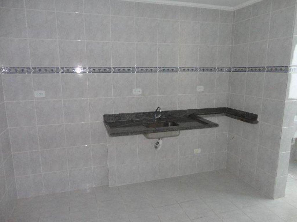 Cozinha do apartamento com 1 dormitórios em OCIAN - PRAIA GRANDE