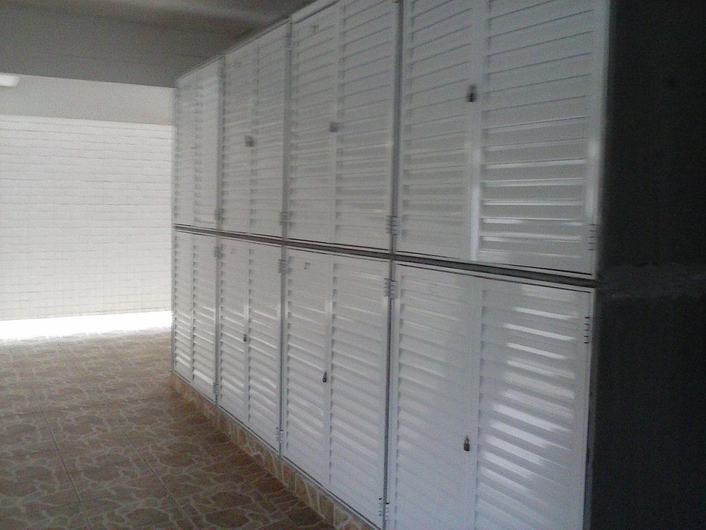 Guarda Volume do apartamento com 2 dormitórios em CANTO DO FORTE - PRAIA GRANDE