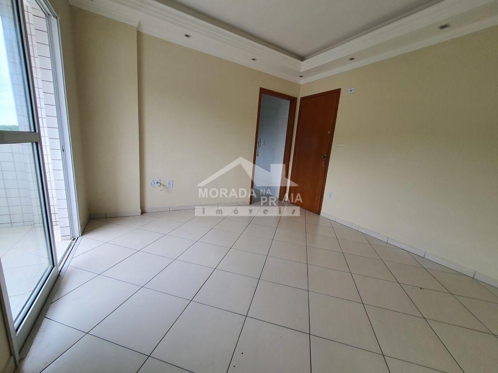 Iluminação da sala do apartamento com 2 dormitórios em CANTO DO FORTE - PRAIA GRANDE