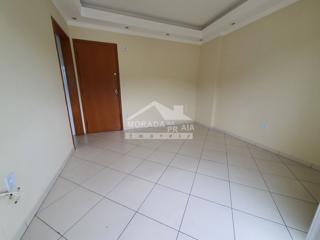Sacada da sala ang 02 do apartamento com 2 dormitórios em CANTO DO FORTE - PRAIA GRANDE