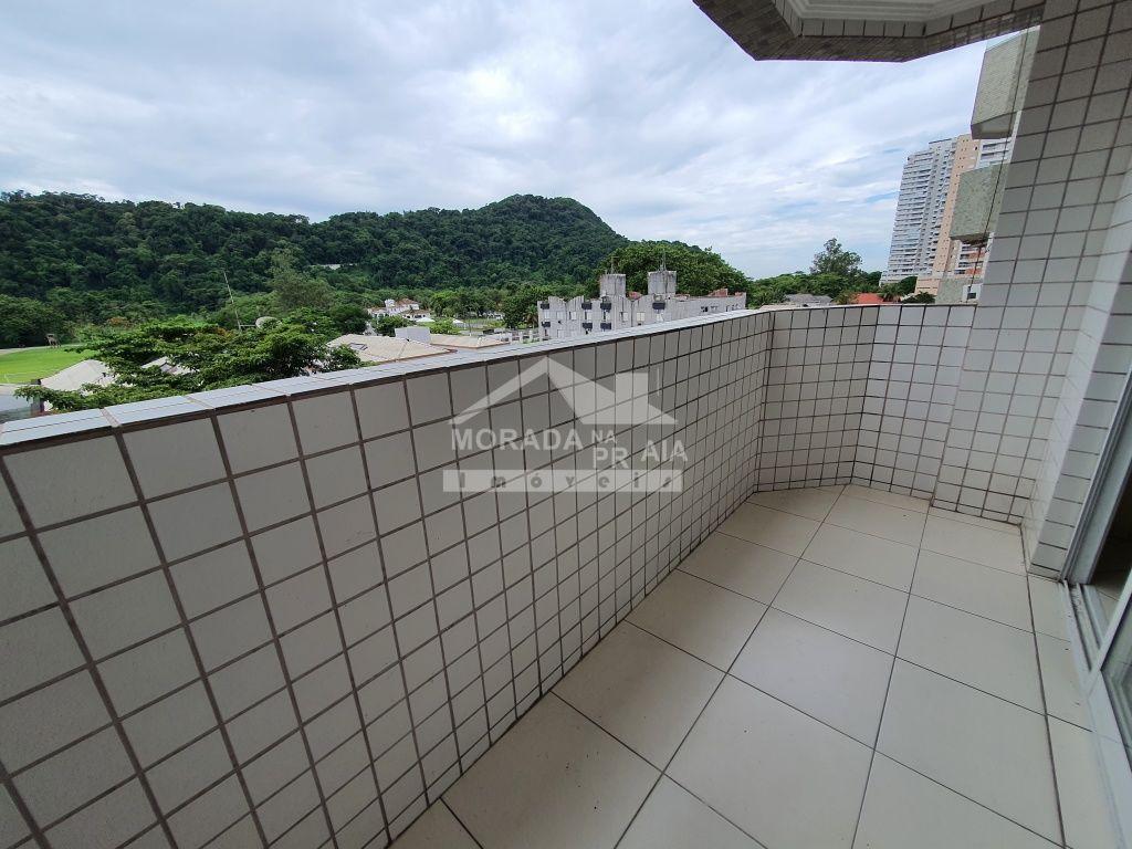 Vista da sala ang 02 do apartamento com 2 dormitórios em CANTO DO FORTE - PRAIA GRANDE