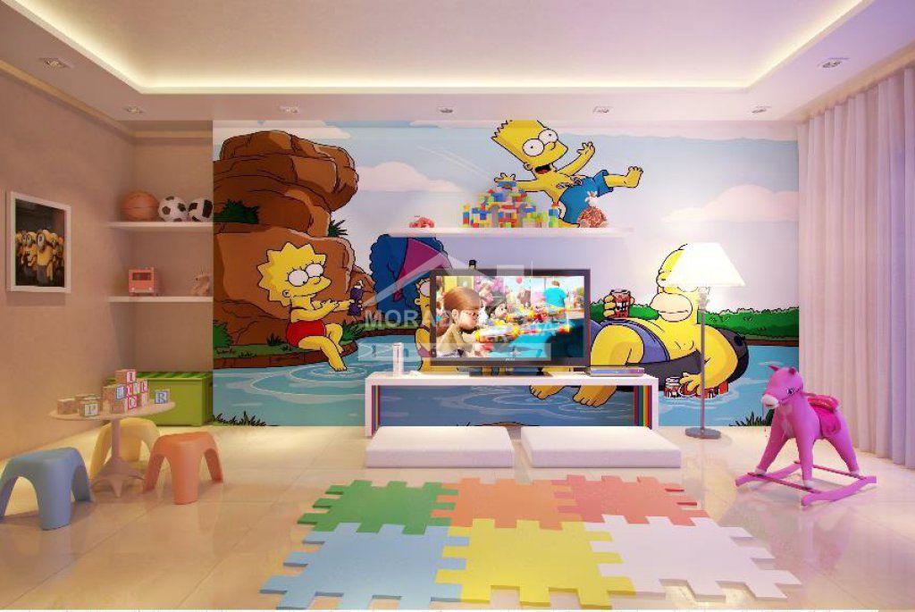Brinquedoteca do apartamento com 2 dormitórios em Vila Tupi - Praia Grande