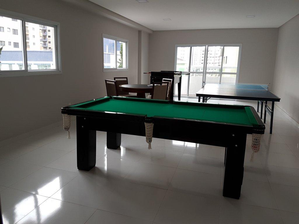 Salão de jogos do apartamento com 1 dormitórios em AVIAÇÃO - PRAIA GRANDE