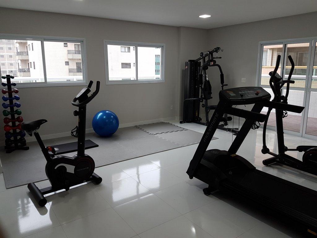 Academia do apartamento com 1 dormitórios em AVIAÇÃO - PRAIA GRANDE