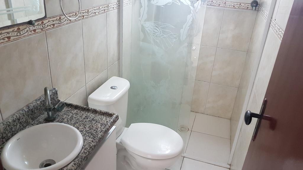 WC social do cobertura com 2 dormitórios em MIRIM - PRAIA GRANDE