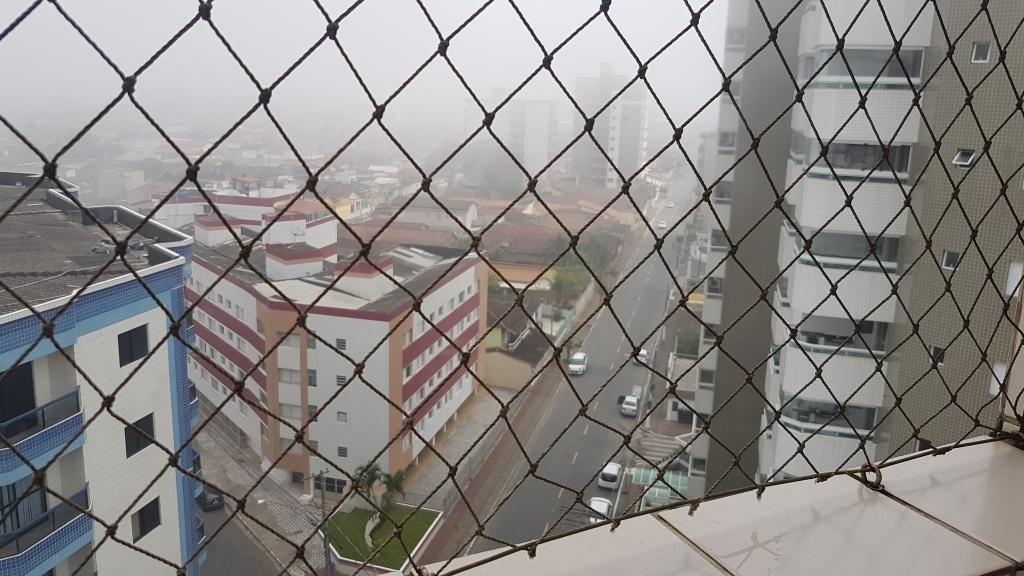 Vista da suíte ang 02 do cobertura com 2 dormitórios em MIRIM - PRAIA GRANDE