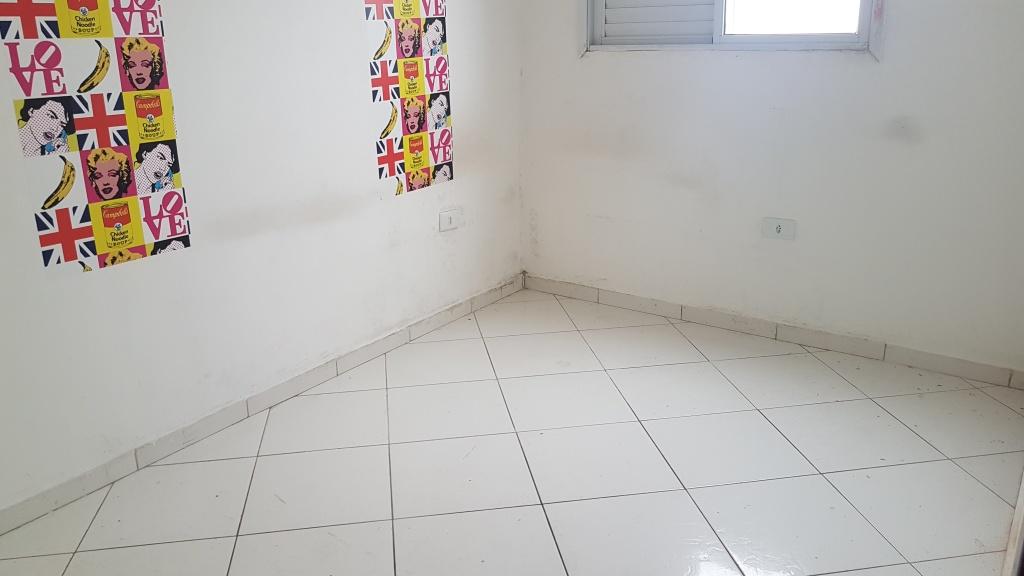 Dormitório do cobertura com 2 dormitórios em MIRIM - PRAIA GRANDE