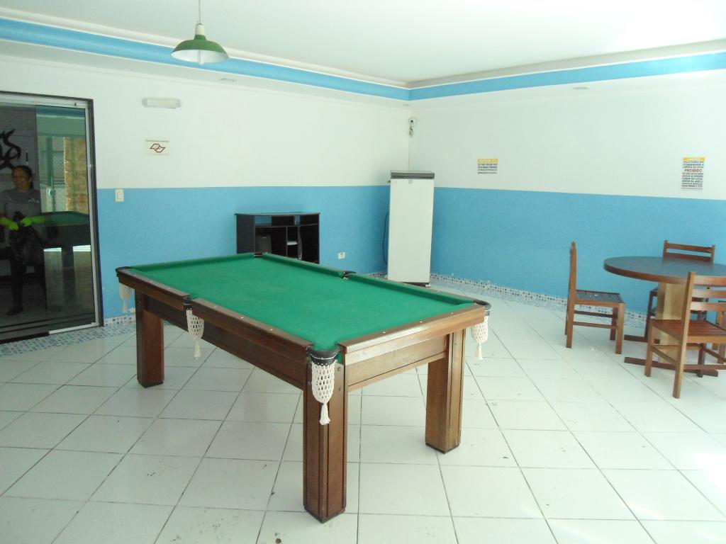 Salão de jogos ang 02 do cobertura com 2 dormitórios em MIRIM - PRAIA GRANDE