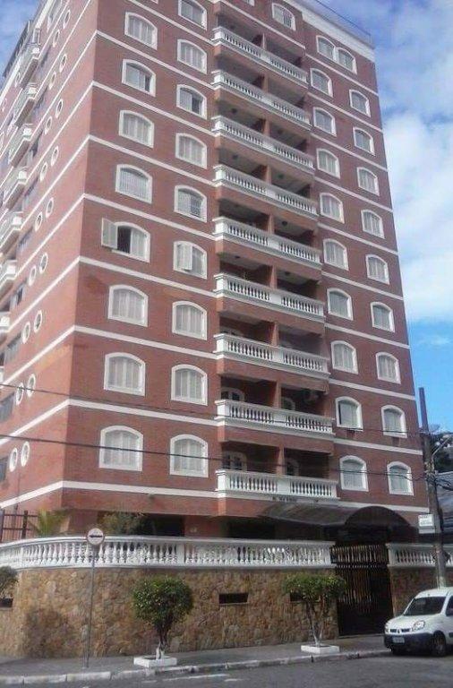 Fachada do apartamento com 2 dormitórios em TUPI - PRAIA GRANDE